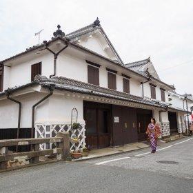 吉井町白壁の町並み