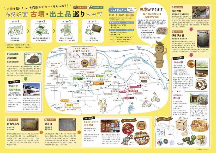 九州古墳カードチラシ(中面)